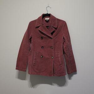 Mauve Celine Coat